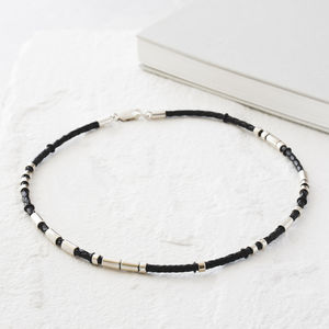 Personalised Men's Morse Code Necklace - men's jewellery