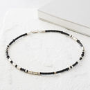 Personalised Men's Morse Code Necklace