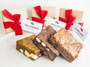 Chocolate Brownie Subscription Monthly - subscriptions