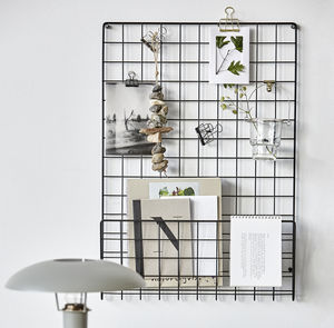 Mesh Notice Board - kitchen accessories