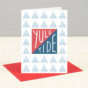 'Yule Tide' Christmas Card