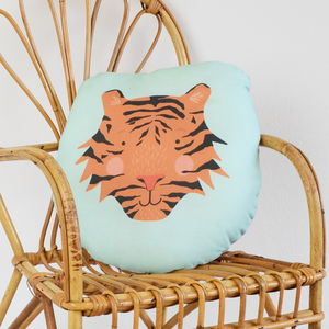 Children's Tiger Cushion - home sale