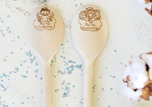 Godparent Wooden Spoon