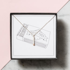 Perfect Match Necklace Gift Box