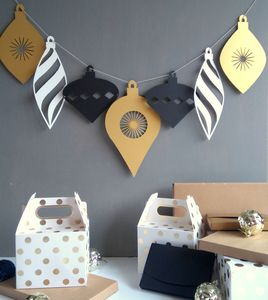 Oversized Christmas Garland - garlands & bunting