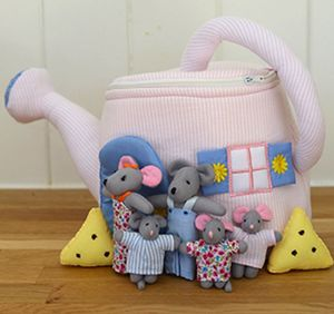 Watering Can Mouse House - shop by category
