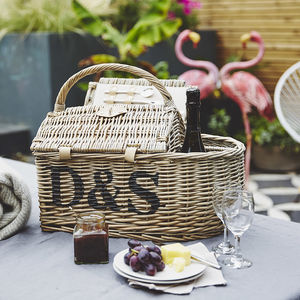 Personalised Boat Hamper Picnic Basket - best wedding gifts