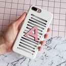 Personalised Brush Strokes Alphabet Phone Case