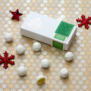 Snowball Cocktail Truffles Gift Box - stocking fillers