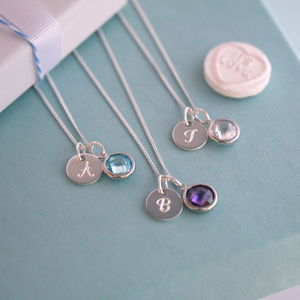 Initial Necklace - necklaces & pendants