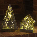 3D LED Glass Tree And House