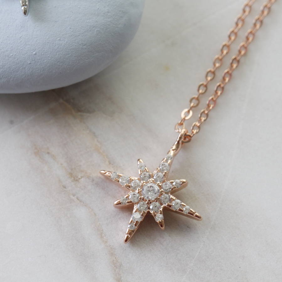 pendant star necklace store north