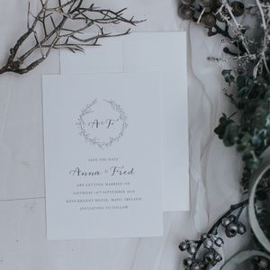 Anna Save The Date - save the date cards