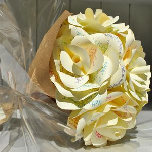 Guest Book Bouquet - less ordinary guest books