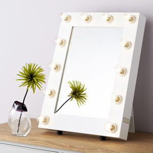 Satin Broadway Hollywood Mirror - sale home refresh