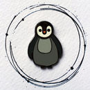Penguin Enamel Pin Badge