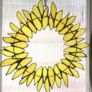 Stained Glass Summer Wreath