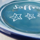 Personalised Enamel Rice Plate