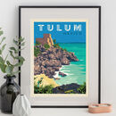 Tulum, Mexico Travel Print