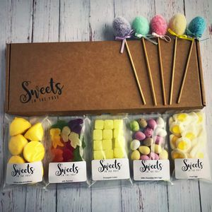 Happy Easter Letterbox Sweets Gift Box - easter chocolate