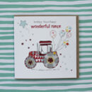 Niece Birthday Card Tractor Theme