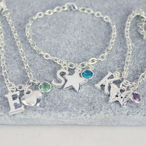 Personalised Child's Charm Bracelet - wedding fashion