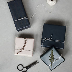 Midnight Christmas Wrapping Paper - cards & wrap