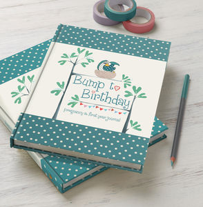 'Bump To Birthday' Journal - gifts for her