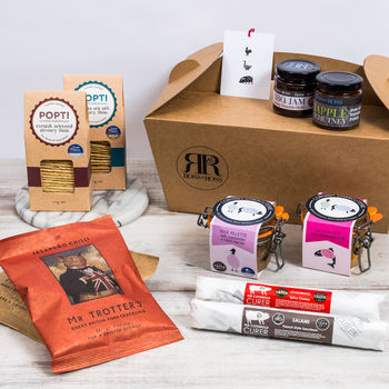 British Charcuterie Snack Hamper