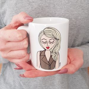 Customised 'Miss Workwear' Ceramic Mug