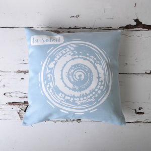 'La Soleil' Nautical Cushion Cover
