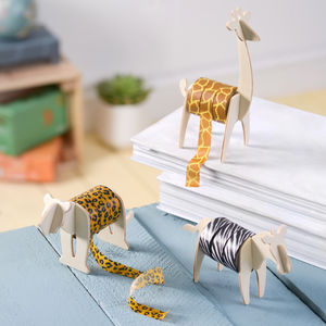 Wild Tape Animal Print Washi Tape - safari trend