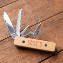 Personalised First Pocket Knife