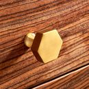 Modern Brass Gold Cupboard Door Knobs