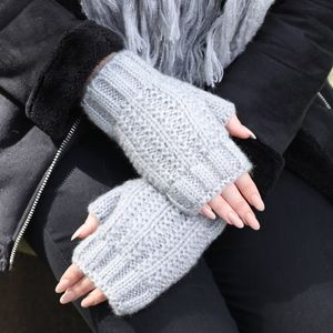 Knitted Hand Warmers - womens