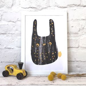 Bunny Giclee Print - new in home