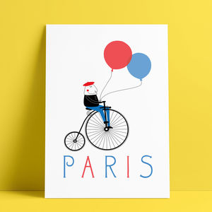 Paris Glicée Print - shop by price