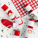 Christmas Santa Bingo Crackers