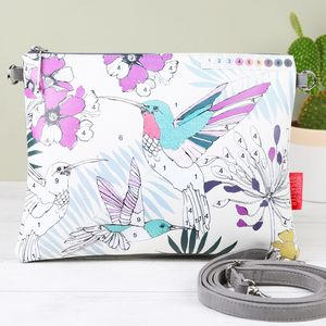 'Colour Me' Hummingbird Clutch Bag