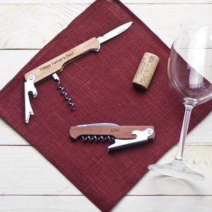 Personalised Classic Wine Bottle Openers - best man & usher gifts