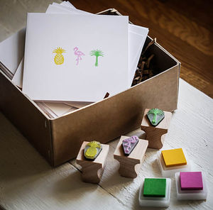 Tropical Art Stamps - winter sale