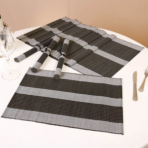 Luxury Contemporary Bamboo Table Linen