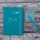 Personalised Week To View 2019 Diary Planner Organiser