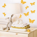 Set Of Mini Butterfly Stickers