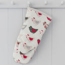Roost Red Oven Mitt