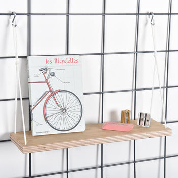 Wire Mesh Memoboard Shelf
