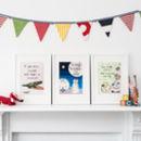 Nursery Rhyme Art - Set Of Three