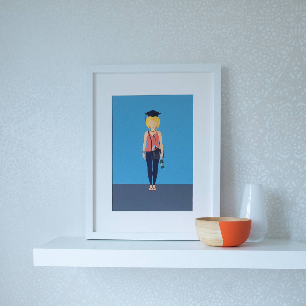 Personalised Individual Portrait Illustration Print