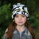 Child Wearing Little Hotdog Watson Knitted Kids Beanie