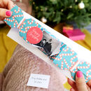 Personalised Origami Christmas Cracker Photo Card